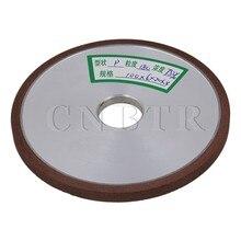 CNBTR 100x6x20mm Plana Diamante Muela Recta BQLZR 180 Grit 75% Concentración