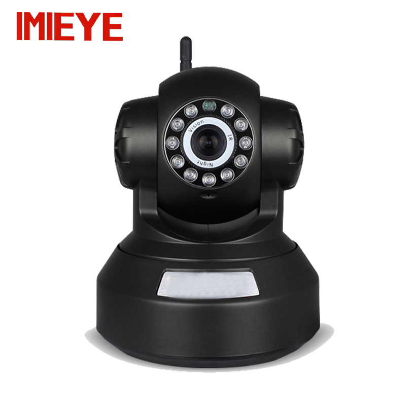 IMIEYE HD 720p wireless ip camera wifi support 64G SD card alarm cctv mini Night vision