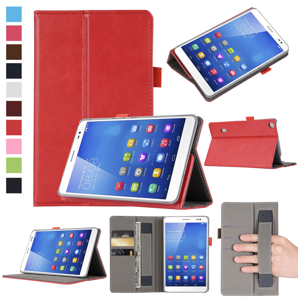 Faux Leather 7.0For Huawei MediaPad T3 7.0 Case For Huawei MediaPad T3 7 3G BG2-U01 Tablet Cover Case case for huawei mediapad t37 t3 7 3g bg2 u01 bg2 u03 7tablet protective cover smart leather cases for huawei t3 7 0 3g bg2 u01