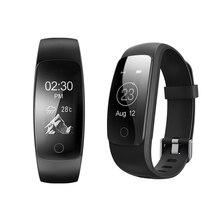 Гестия ID107 плюс 0.96 дюймов OLED HR сердечного ритма браслет монитор браслет здоровье фитнес для Android IOS смарт-часы