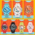 BOAMIGO Marke Kinder Sport Uhren mädchen jungen teenager kinder schock Uhr Kind quarz Mode Digitale schwimmen armbanduhr Wasserdicht