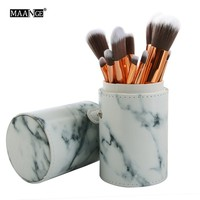 10pcs Makeup Brushes Set With Storage Box Cosmetics Brush Tools Foundation Brush For Face Beauty
