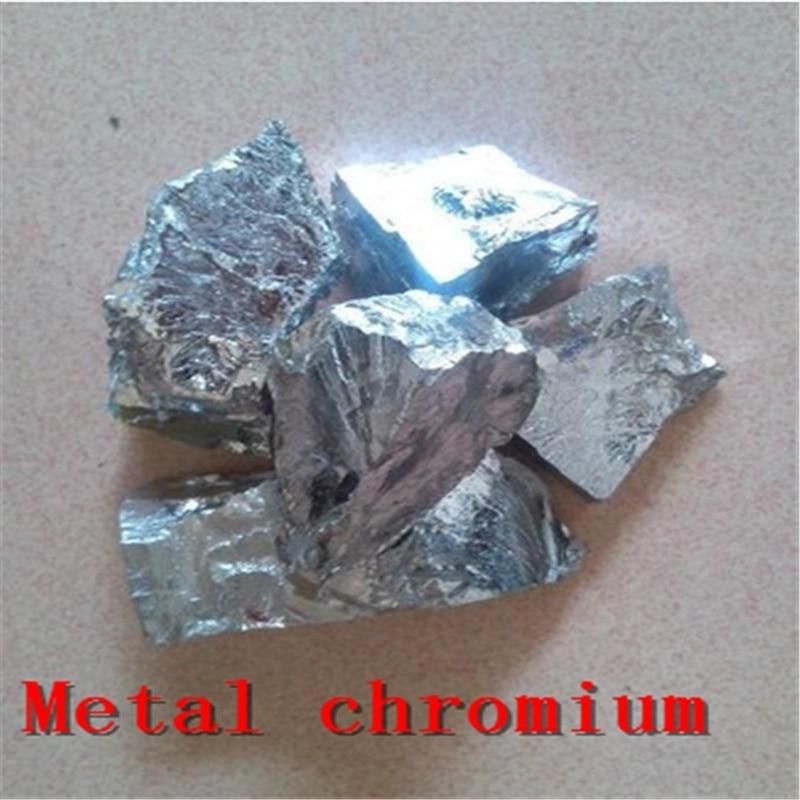 Metal Chromium Chrome  99A Cr> 99.2 Pure Chrome Block