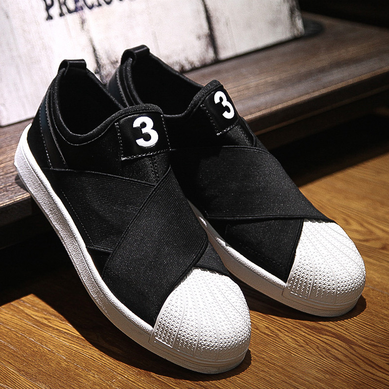 2016 Mens Casual Shoes Mixed Color Breathable Flat Walking Slip on ...