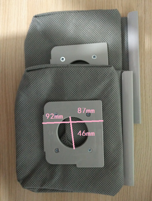 wet and dry vacuum cleaner dust bags non-woven bags ZW1200 V-743RH V-743SG philips brl130 satinshave advanced wet and dry electric shaver