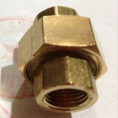 цены  Brass pipe union Connector Coupling 2