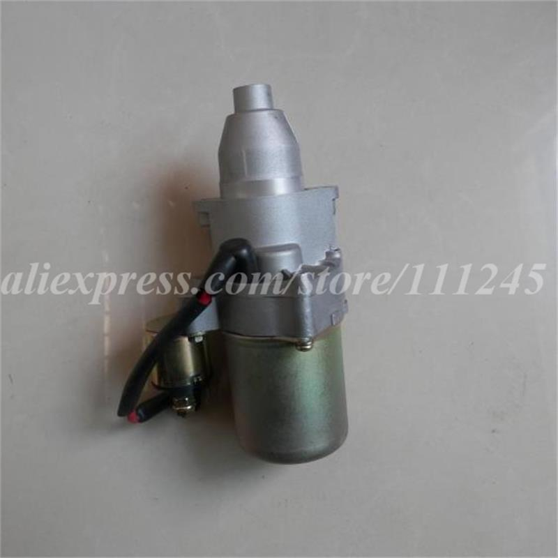 ELECTRIC STARTER MOTOR 12V 0.2KW  14 TEETH FOR HONDA  GX240 GX270 8HP 9HP 242CC 272CC  START MOTOR  REPL. # 31200-ZH9-003 12v 4kw new starter motor for ford f e series tg228000 8420