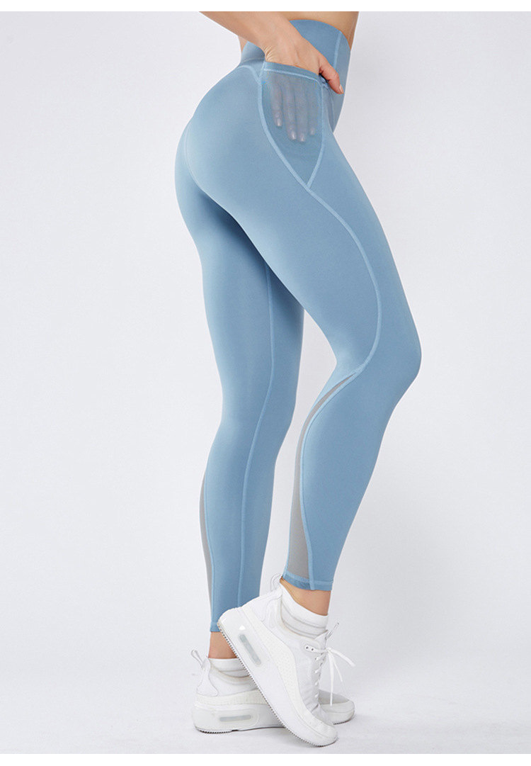 Womens High Waist Yoga Pants Push Up Leggings Sports Workout Fitness Trousers N4
