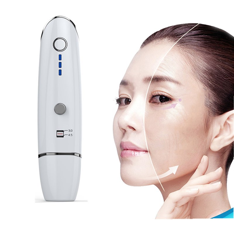 Mini HIFU Radar Line V curing Anti-wrinkle Skin Tightening Ultrasound Anti Antiaging Face Lifting Home-use Beauty Machine цены