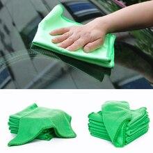 5 шт. полотенце из микрофибры для мытья автомобиля, мягкая чистящая ткань для ухода за автомобилем, автомойка, тряпка из микрофибры, инструменты 25 см X 25 см