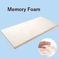 Односпальная кровать Новый стиль высокопрочный матрас из пены с эффектом памяти студенческого общежития белый Высокое качество толстый те