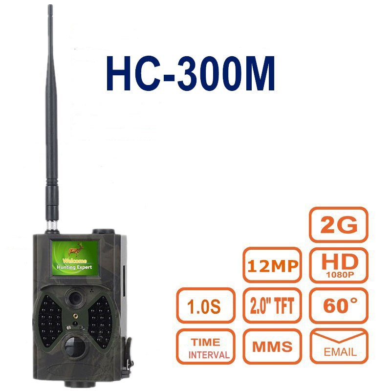 HC300M Trail Hunting Camer MMS GPRS Email 940nm Infrared Wild Camera GPRS 12MP 1080P Night Vision for Animal Photo Trap hc300m 940nm infrared night vision digital trail camera with remote control 2g mms gprs gsm sms control camera for hunting