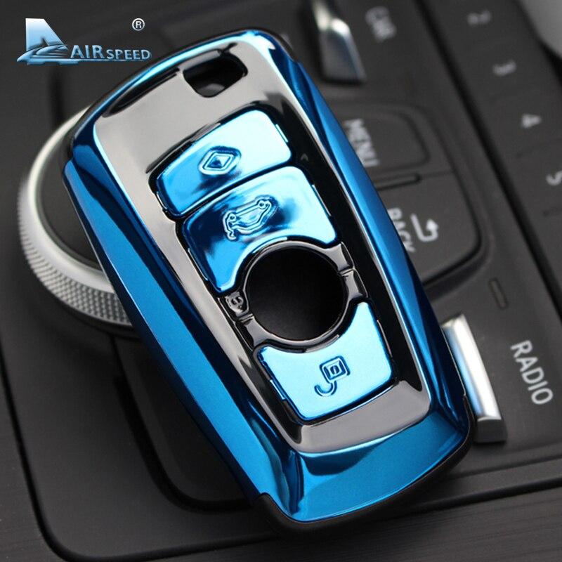 Vitesse ABS Voiture À Distance Clé Shell de Remplacement Mis À Jour Clé Cas pour BMW F07 F10 F11 F20 F25 F26 F30 voiture style