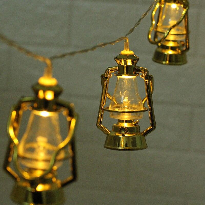 20 Led Fairy Muslim Ramadan Lantern Battery Operated String Lights 3m LED Decoration For Christmas Garland Lustre Wedding
