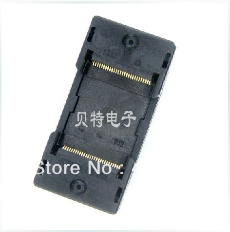 Import OTS-56-0.5-003 test socket adapter TSOP56 programming block IC burn ic qfp32 programming block sa636 block burning test socket adapter convert