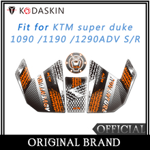 KODASKIN Motorcycle Fuel Tank Sticker Fit For KTM Super Duke 1090 /1190 /1290ADV S/R  2017