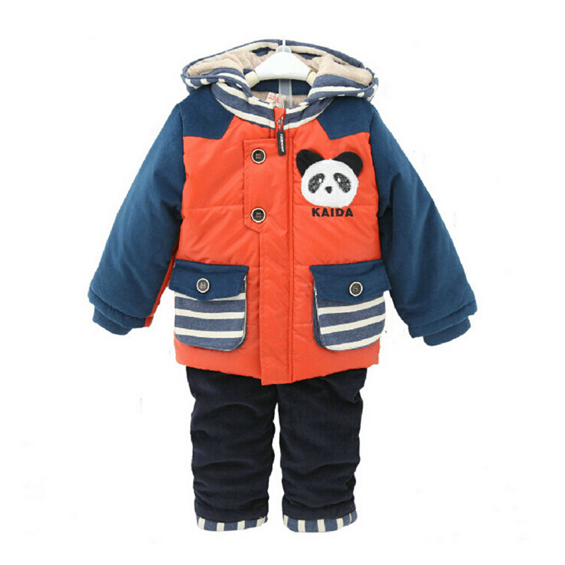 0-3 years old baby winter sets winter toddler coats infant winter clothing toddler boy suits baby vetements enfant