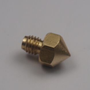 Funssor <font><b>3</b></font> D printer parts Ultimaker extruder hot end <font><b>brass</b></font> nozzle 0.4 <font><b>mm</b></font> for 1.75 <font><b>mm</b></font> filament top quality free shippin image