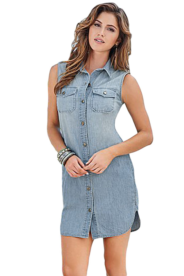 Cheap jean dresses for women