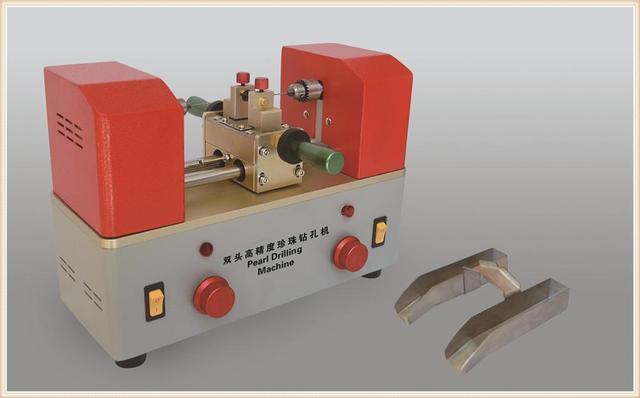 Bi-directional drilling machine Cheap Jewelry Tools Pearl Holing Machine Bead Drilling Machine Two-way Mini Drilling Machine