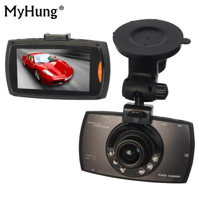 New 2016 Car DVR Camera Full HD Degree Registrator Recorder Motion Detection Night Vision G Sensor Dash Cam Car Accessories