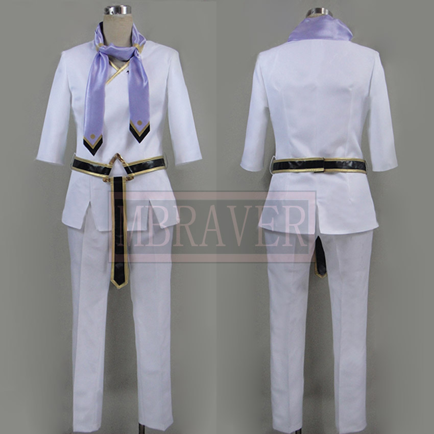 Idolish7 Sogo Osaka White Set Cosplay Costume Custom Made Any Size