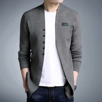 NIANJEEP 2018 New Sweater Men Autumn Casual Men Cardigan Classic Knitwear Sweater High Quality 3XL Pull Homme Men Clothes