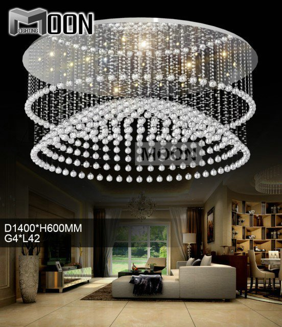 Ceiling Fan Crystal Chandelier 2017 New Design Light Fixture Home Decorative Re De Sala Round Lamp Md10002 In Lights From