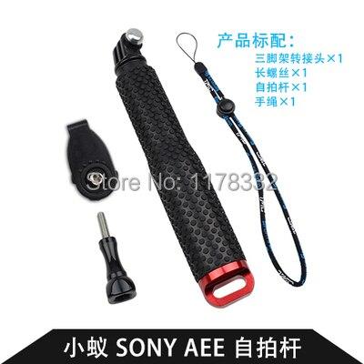pro Sony Akční kamera HDR AZ1 AS20 AS100V AS30V AS15 Gopro hrdina 4 hrdina 3 hrdina 3+ sj4000 Vodotěsný potápěčský kapesní počítač Monopod / šroub