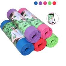 Hot 10mm NBR Beginner Fitness Yoga Mat Exercise Mat Folding Thick Yoga Mat Roll Yoga Pad
