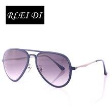 RLEI DI High quality Super light sunglasses women men glasses New Style Fashion Clear Sunglasses 56mm Colorful mirrored Lens