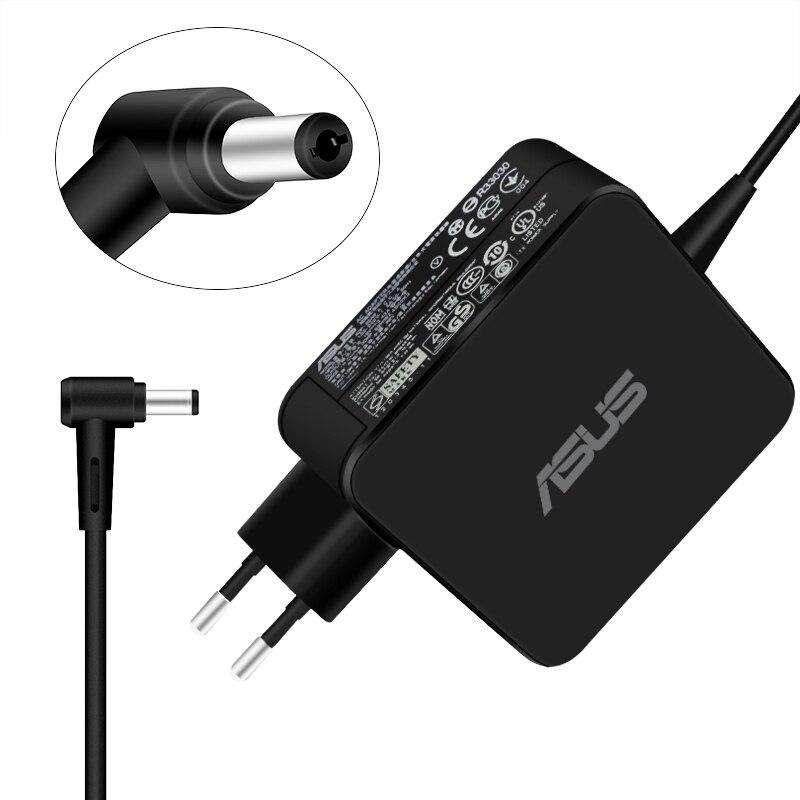 Адаптер для ноутбука Asus 19V 3.42A 65W 5,5*2,5mm AC зарядное устройство для ASUS X45A X501A X550 X550LA F555 Адаптер зарядного устройства для ноутбука