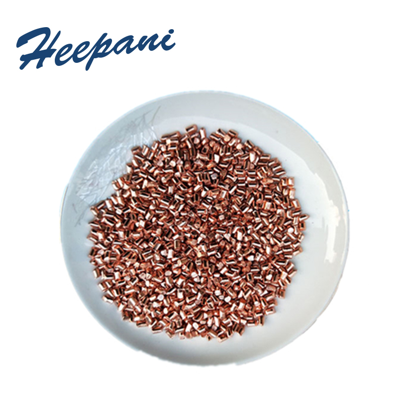 Free Shipping High Purity 99.999% Cu Copper Particles / Granules / Pellets For Industry & Scientific Research