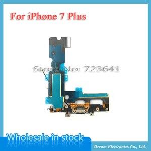Image 4 - MXHOBIC 50 шт./лот USB зарядный порт док разъем гибкий кабель для iPhone 7 7G Plus 7P Замена аудиомикрофона