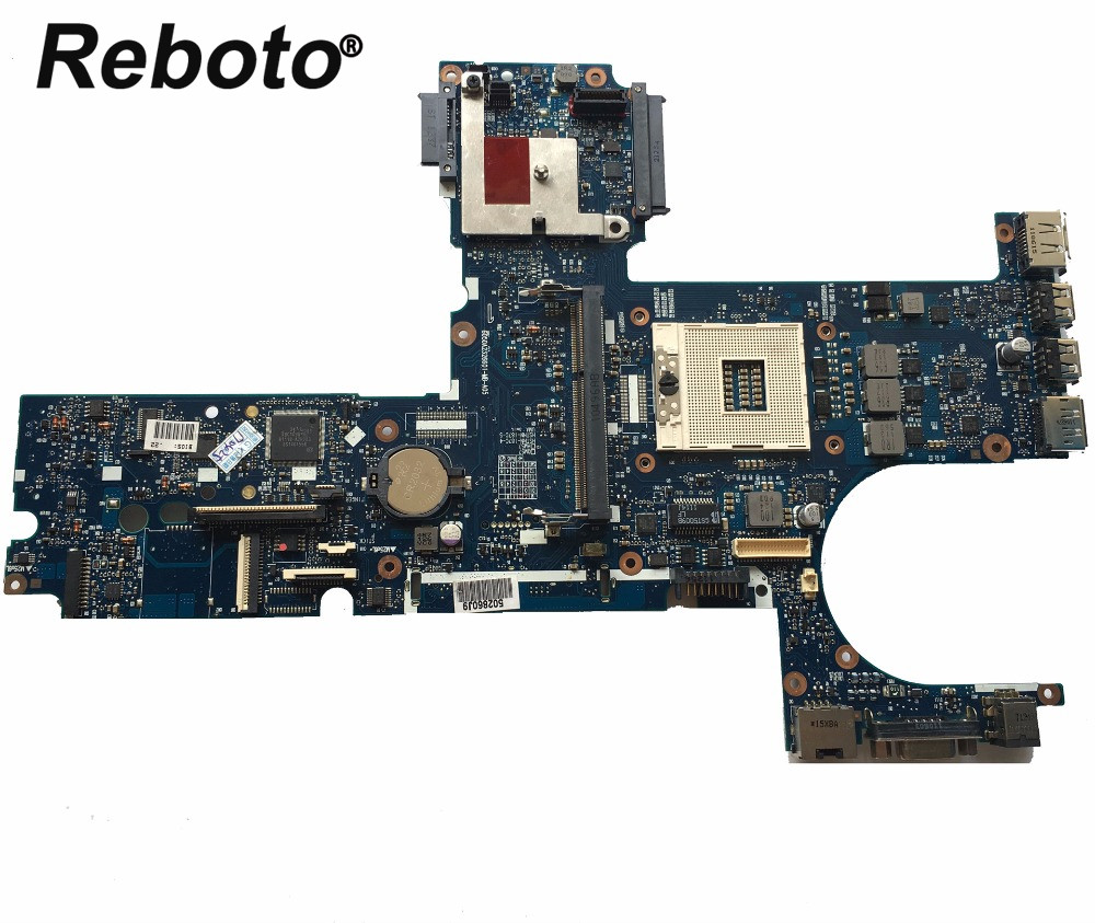 Reboto High quality For HP 6450B 6550B Laptop Motherboard 613293 001 HM57 DDR3 MainBoard 100 Tested