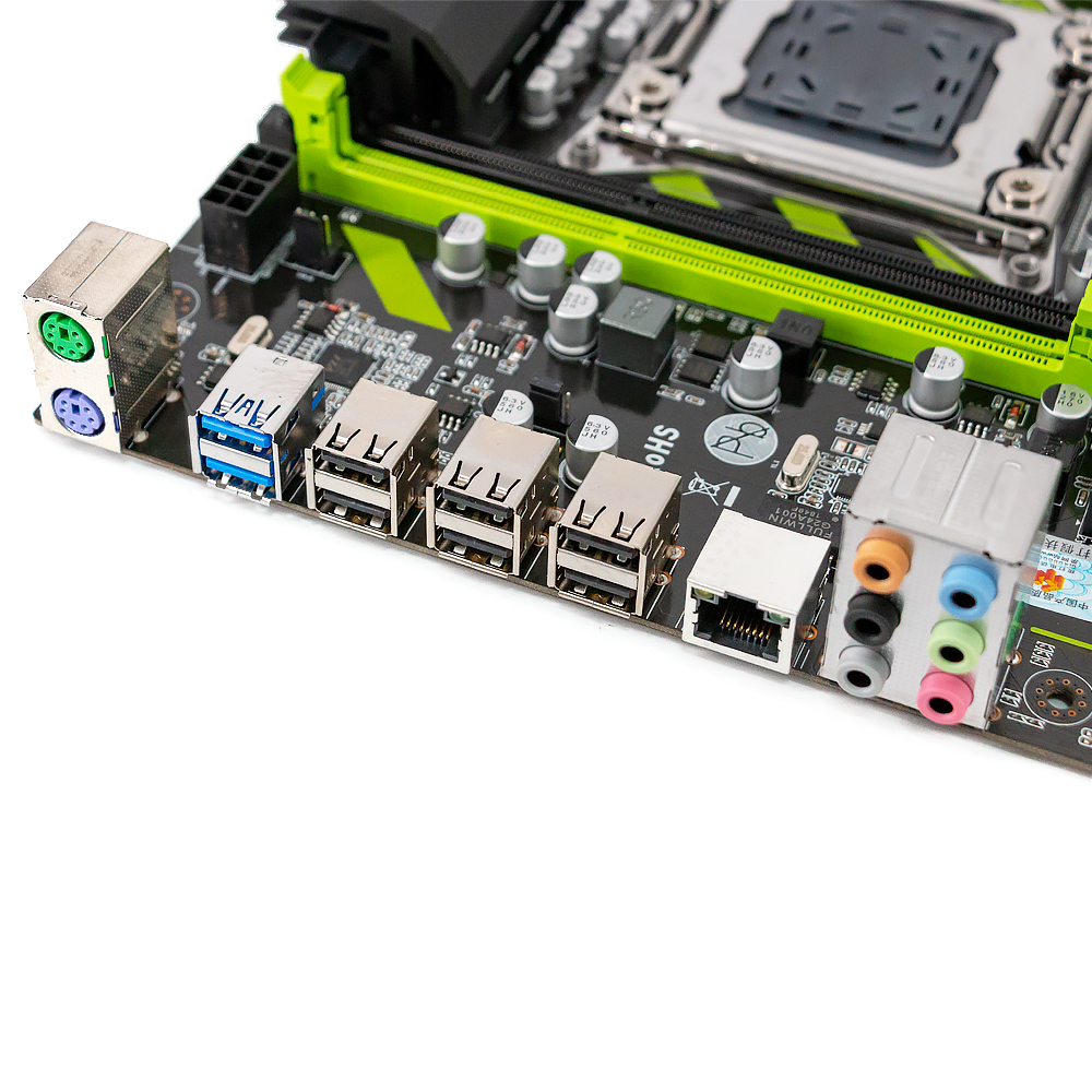 HUANAN ZHI X79-ZD3 Carte Mère Pour Intel LGA 2011 E5 1650V2 2650V2 2680V2 2678V3 DDR3 1333/1600/1866 MHz 64 GB M.2 NVME MATX - 6