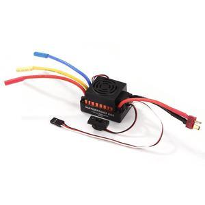 Image 3 - OCDAY contrôleur de vitesse électrique, pièces de voiture, étanche 60a RC, sans balais ESC BEC, avec 5.5V 3a BEC pour camion de voiture RC 1/10