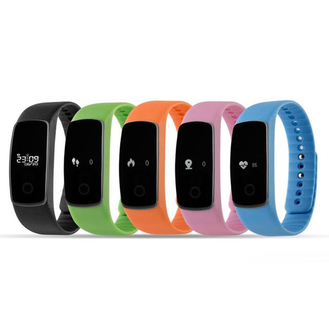 HESTIA M01 Passomete Pulsera Smartband Deportes Monitor de Ritmo Cardíaco Reloj Pulsera Inteligente Bluetooth Gimnasia Salud para Android iOS