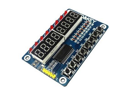 Smart Electronics 8-Bit Digital LED Tube 8-Bit TM1638 Key Display Module for arduino AVR Authentic High Quality