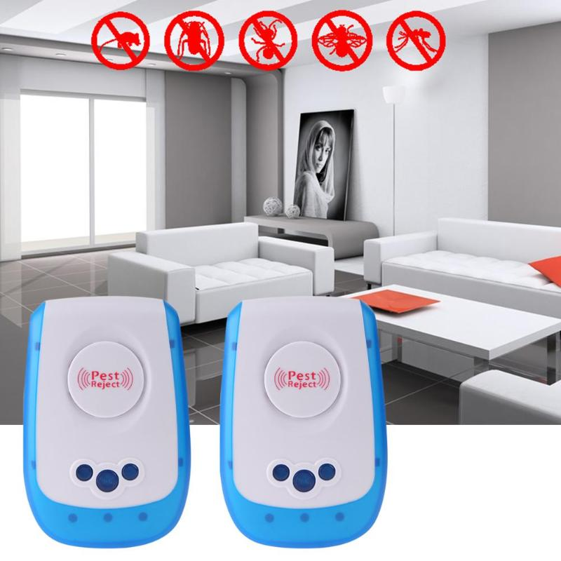 Electronic Anti Pest Repeller Ultrasonic Rejector Mosquito Mouse Repellent Anti Mosquito Repeller killer Rode