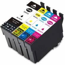Vilaxh Compatible Ink Cartridge For T3471 T3474  Epson WorkForce Pro WF-3720DWF / 3725DWF