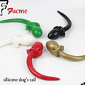 Anal New Silicone Attractive Butt Plug Anal + Dog Tail Big Size Women/men Stopper Sex Toy free Shipping Adult Product