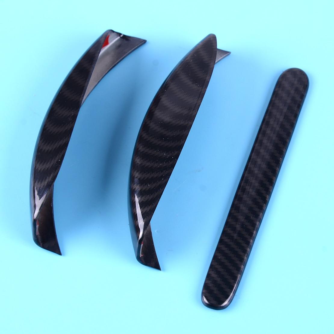 beler ABS Carbon Fiber Texture Interior Handbrake Decorative Frame Fit For Jeep Wrangler Jk 2011 2012 2013 2014 2015 2016 2017