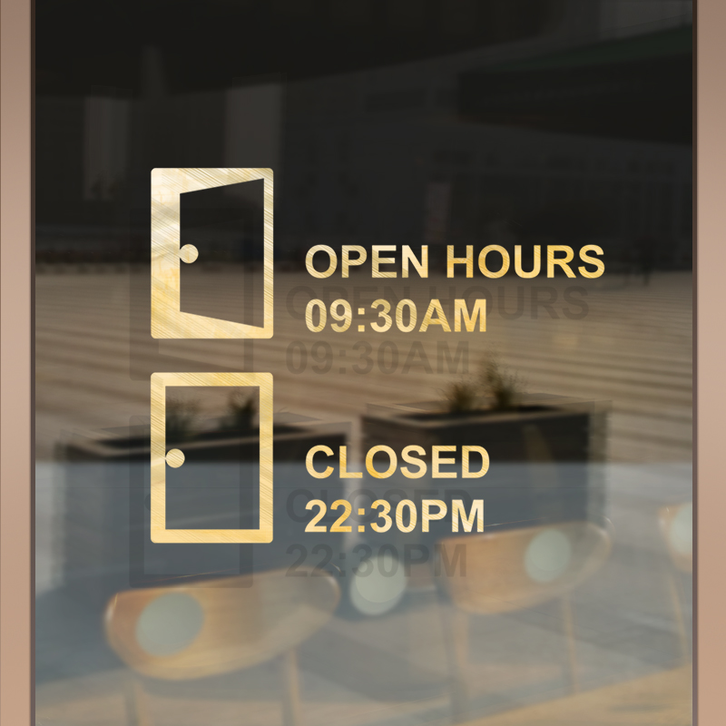 Lighting Warehouse Menlyn Trading Hours: Aliexpress.com : Buy Shop Opening Hours Window Sticker