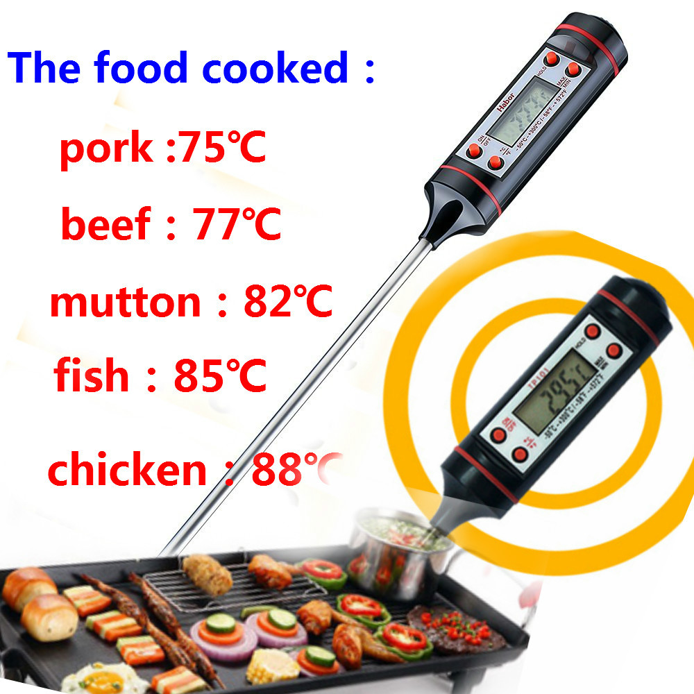 Knowing how one works can help you obtain the most accurate reading. Best instant read Digital Cooking Food Probe Thermometer ...