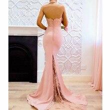 MUXU robe femme ete 2018 vestidos verano Sexy Sleeveless party dress long lace backless sundress pink fashionable dresses jurk