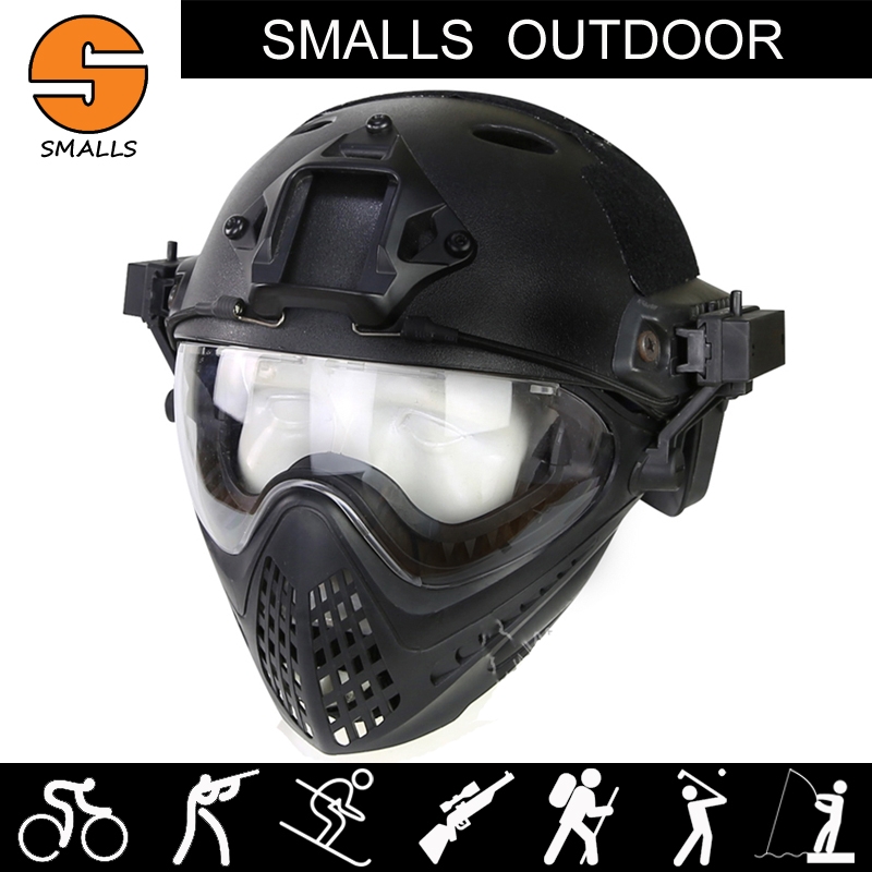 M4 M16 AR 15 Accessories Airsoft tactical Paintball fast helmet WST Pilot Mask for hunting shooting