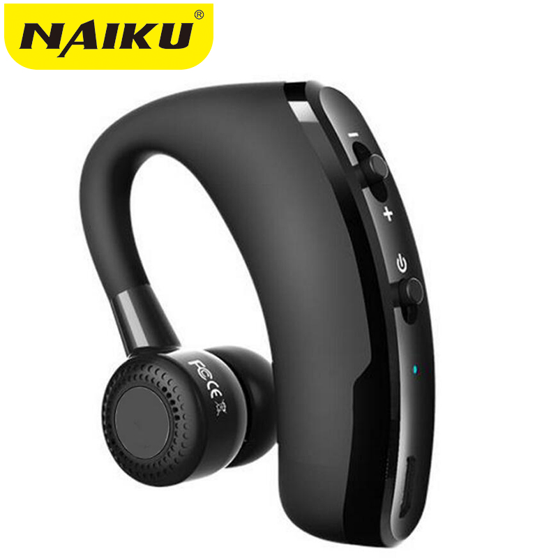 Handsfree Wireless Bluetooth Earphones Noise Cancelling Business Wireless Bluetooth Headset with Mic for Driver Office Sports new bee bluetooth headphones wireless nfc fold stereo noise cancelling handsfree sports running headset with mic for smartphones
