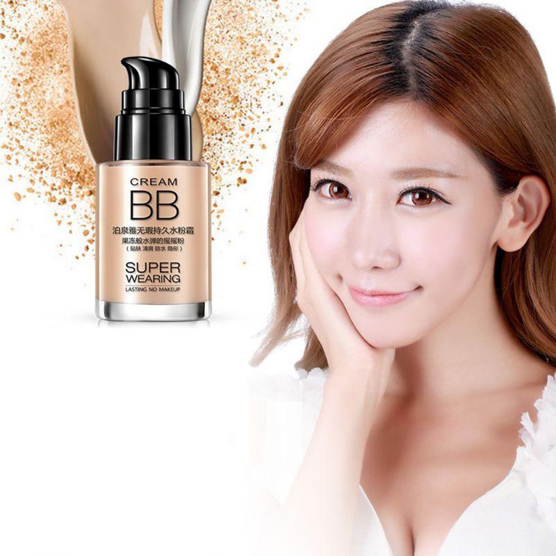 Women\'s Makeup Face BB Cream Foundation Concealer Shake Powder ...
