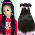 7A Unprocessed Malaysian Virgin Hair Straight 4 Bundles Cheap Malaysian Human Virgin Hair Luduna Straight Weave Bundles Deals